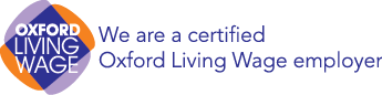 We are a certified Oxford Living Wage employer